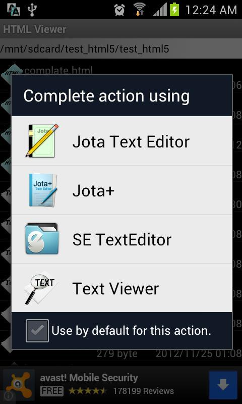 Local HTML Viewer for Android - APK Download
