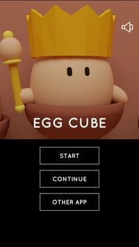Escape Game Egg Cube poster