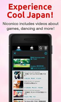 niconico (ニコニコ動画/ニコニコ生放送) apk スクリーンショット