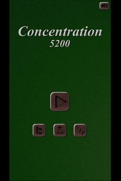 Concentration 5200 poster