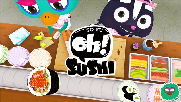 TO-FU Oh!SUSHI poster