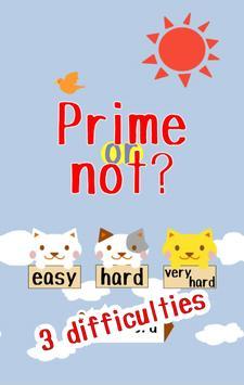 Prime or not? apk screenshot