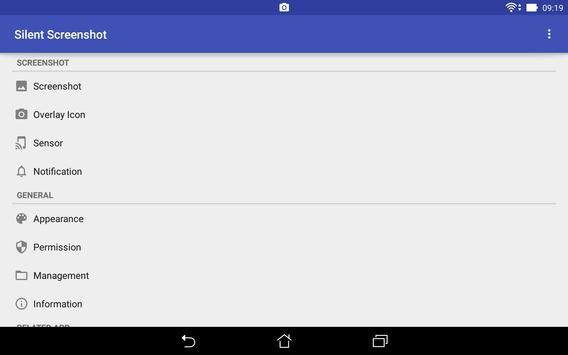 Silent Screenshot apk screenshot