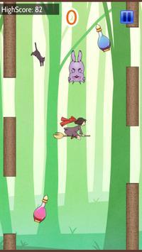 小さな魔女と空飛ぶほうき apk screenshot