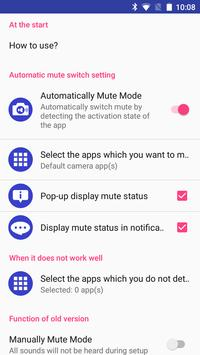 Silent Mode/All Mute Trial (Camera Mute) for Free poster