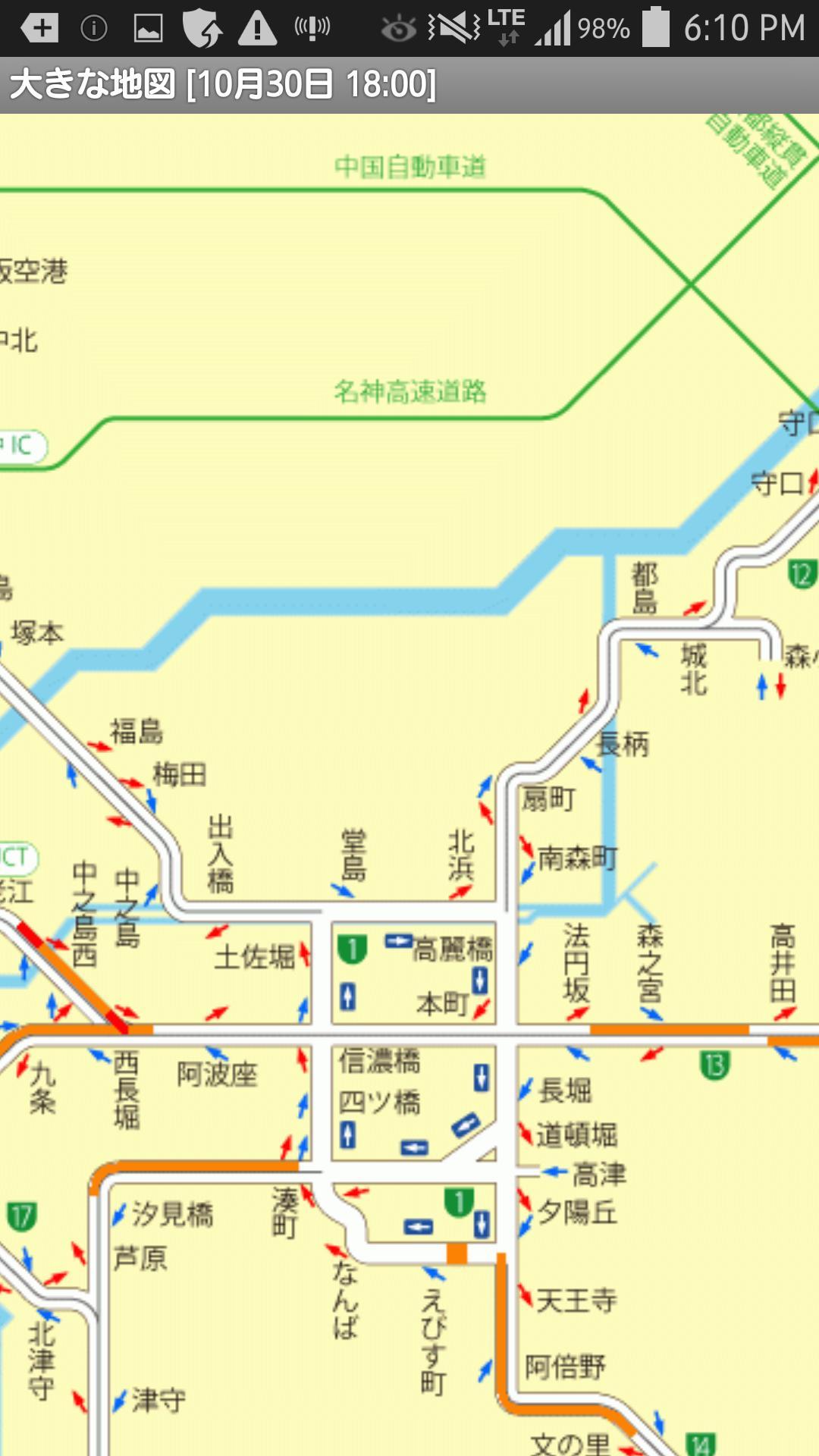 高速 路線 図 阪神