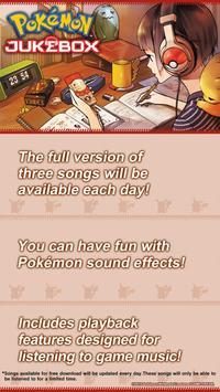Pokémon Jukebox apk screenshot