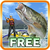 Bass Fishing 3D Free icon
