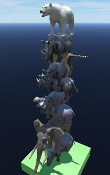 Animal Tower 3D poster