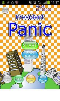 PresidentPanic poster