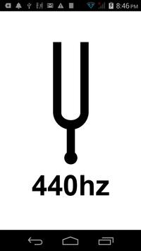 Tuning Fork 440Hz poster