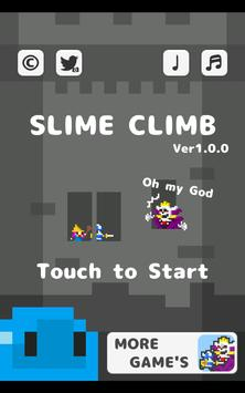 SlimeClimbing poster