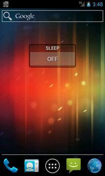 かんたんスリープ管理 ウィジェットや通知バーで簡単に設定変更 apk screenshot