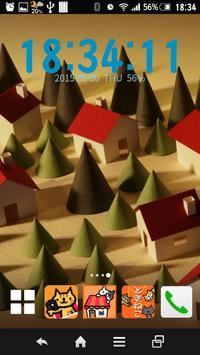6 Schermata ときねこ - ねこ時計ウィジェット