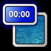 Timer at status bar icon