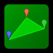 GPSで面積 icon