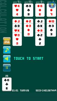 Solitaire Calculation poster