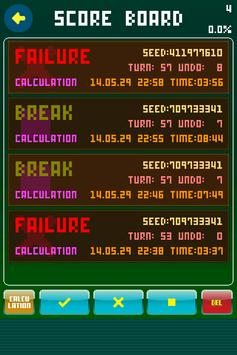 Solitaire Calculation apk screenshot