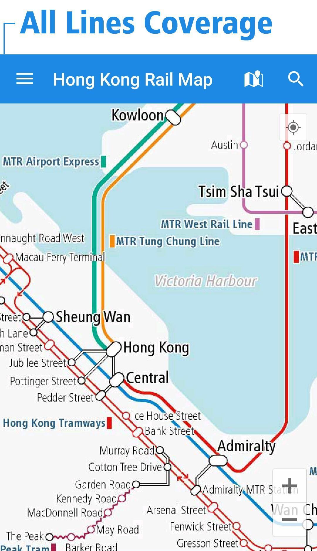 Hong Kong Subway Map Download.Hong Kong Rail Map For Android Apk Download