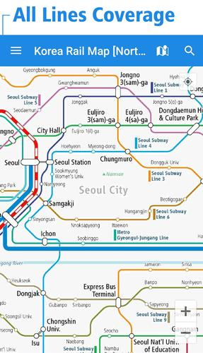 Seoul Station Subway Map.Korea Rail Map For Android Apk Download
