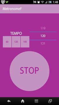 Metronome F screenshot 1