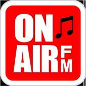 全国FM47局対応 オンエア曲名検索 OnAirFM icon