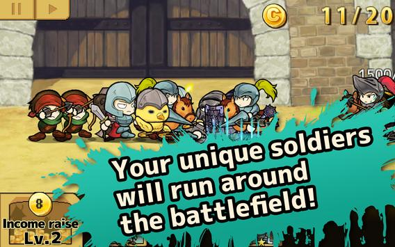 King of the Soldiers:TCG&TD apk screenshot
