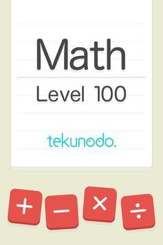 Math Level 100 apk screenshot