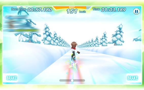 Snow Board Time Attack (FF) apk screenshot