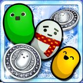 【パズル&コイン落とし】ビーンフリップ~マメと雪の農場~ icon