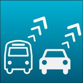 Vehicle location icon