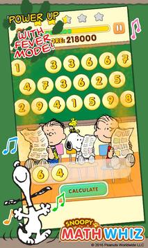Snoopy Math Whiz screenshot 1