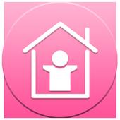 スマホ無料壁紙きせかえアプリ 「スマホコスプレイヤー」 icon