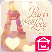 Paris with love Theme icon