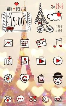 Paris with love Theme poster