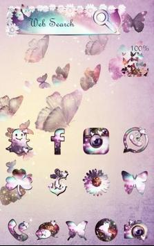 Butterfly's Dream Theme apk screenshot