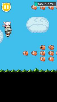 サーバルじゃんぷ〜アニメ「けものフレンズ」の二次創作ゲーム apk screenshot