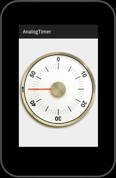 アナログキッチンタイマー〇無料タイマーアプリ apk screenshot