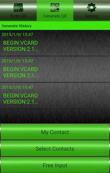 QR Manager Free apk screenshot