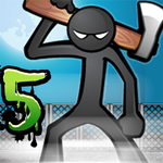 Anger of stick 5 : zombie APK