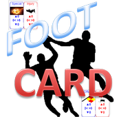 FOOT CARD  enjoy football game with cards! icon