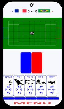FOOT CARD  enjoy football game with cards! screenshot 1