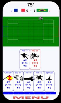 FOOT CARD  enjoy football game with cards! screenshot 2