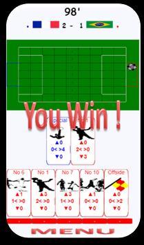 FOOT CARD  enjoy football game with cards! screenshot 4