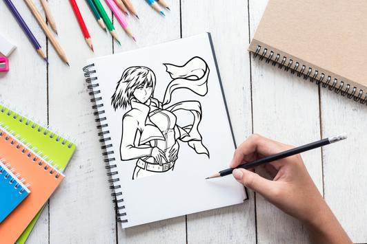 How To Draw Attack On Titan screenshot 2