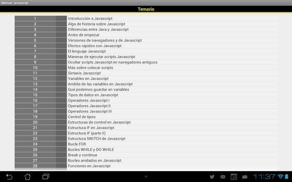 Manual Javascript for Android - APK Download
