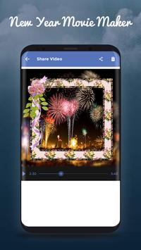 New Year Movie Maker screenshot 3