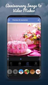 Anniversary Image to Video Movie screenshot 2