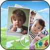 Cute Baby Video Slide Maker icon