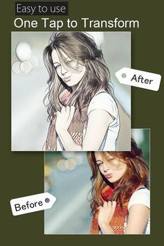 Cartoon photo  filter effect screenshot 2